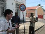 We practiced digital mapping in Inhambane with Iván.