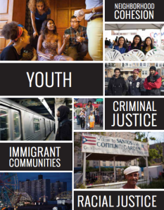The Brooklyn Insights report synthesizes input from individuals and community organizations across the boroughs and sets out priorities .